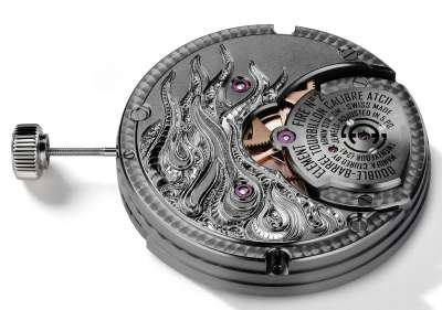 caliber with tourbillon ATC11