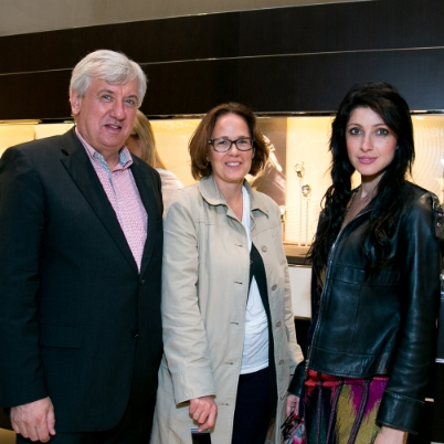 TAG Heuer hosted a party in honor of the Carrera Collection