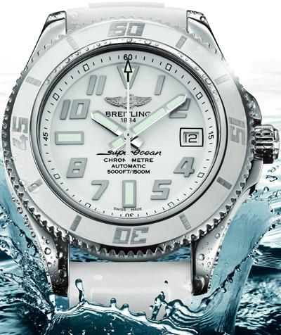 SuperOcean 42 White Water by Breitling