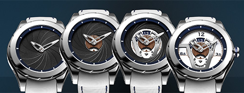 Oculus V.02 Grand Dateur watches by Valbray