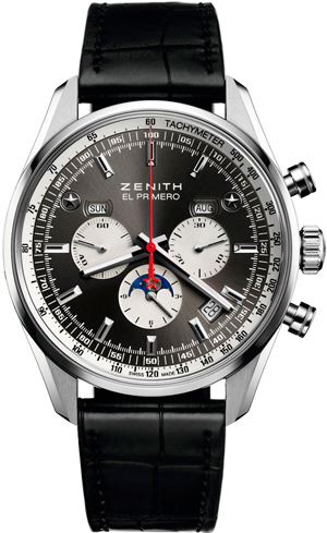 El Primero 410 Limited Edition Calendar Chronograph watch by Zenith