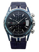 wristwatch Edox Grand Ocean Automatic Chronograph