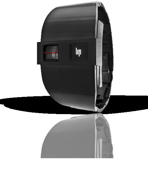 wristwatch Lip De Baschmakoff métal noir