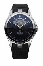 wristwatch Edox Grand Ocean Automatic Open Heart