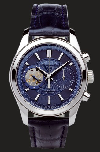 wristwatch Armand Nicolet Blue Dial