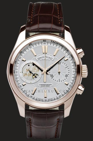 wristwatch Armand Nicolet White Dial