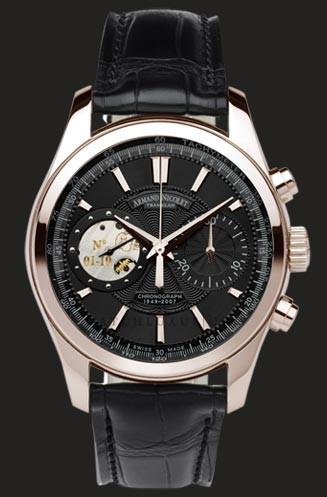 wristwatch Armand Nicolet Black Dial