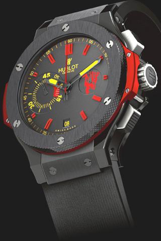 wristwatch Hublot Big Bang Manchester United