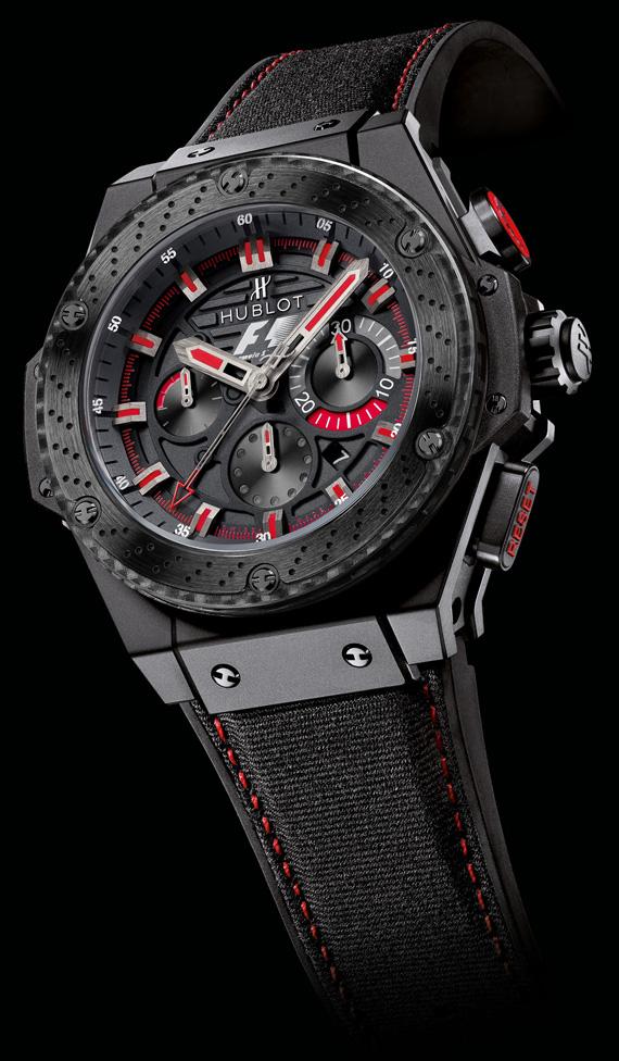 wristwatch Hublot Formula 1 King Power Ceramic