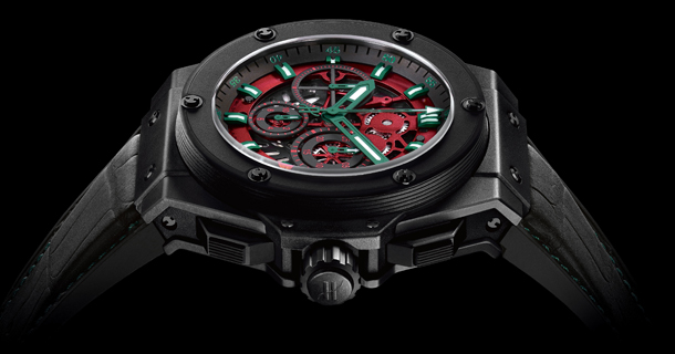 wristwatch Hublot King Power Gold Mexico