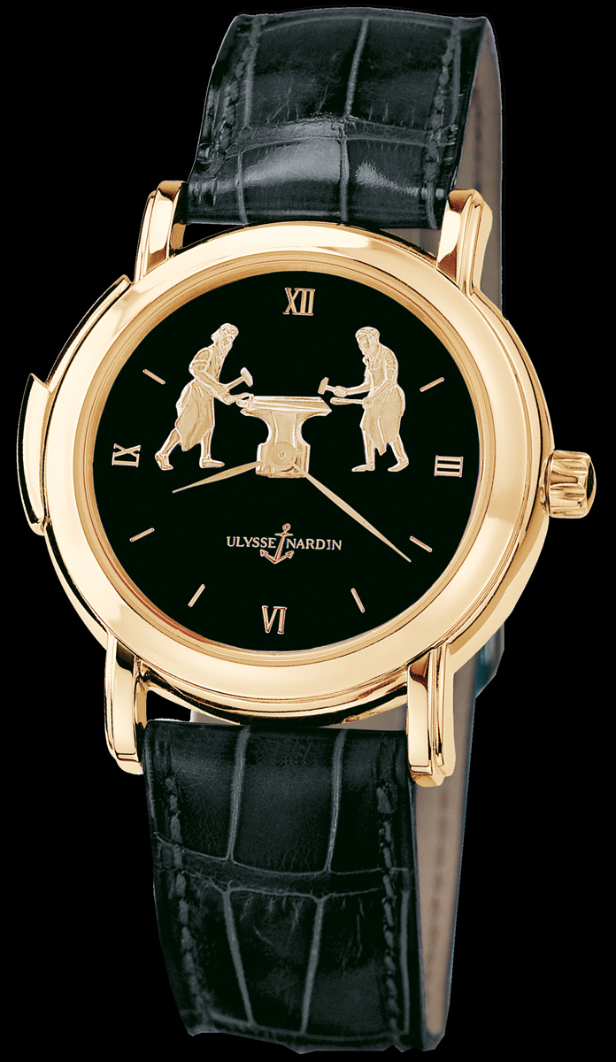 wristwatch Ulysse Nardin Forgerons Minute Repeater