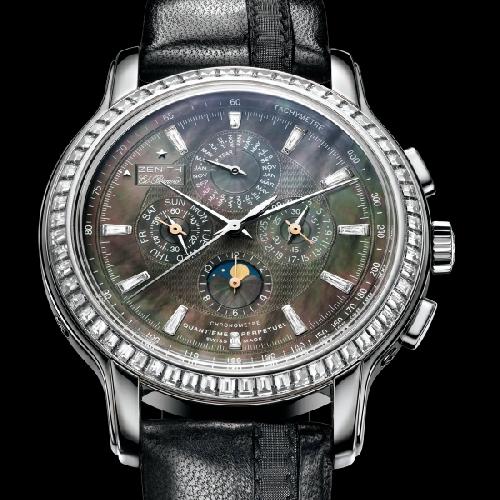 wristwatch Zenith Zenith Academy Quantieme Perpetuel Black Tie
