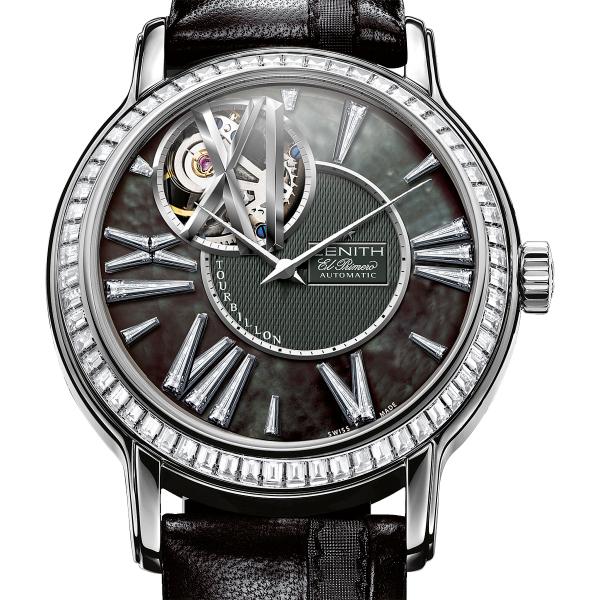 wristwatch Zenith Zenith Academy Tourbillon Quantieme Perpetual Black Tie