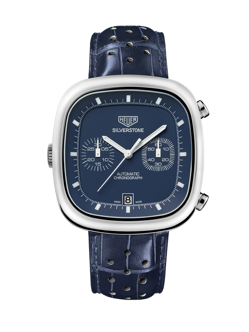 wristwatch TAG Heuer Silverstone Blue