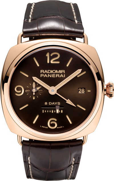 wristwatch Panerai Radiomir 8 Days GMT Oro Rosso