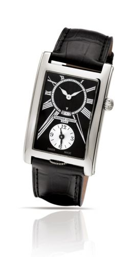 wristwatch Frederique Constant Carree Dual Time