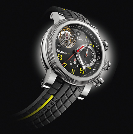 wristwatch Graham Tourbillograph Trackmaster G-BGP-001