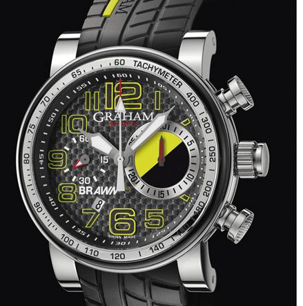 wristwatch Graham Silverstone Trackmaster Year One