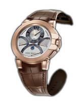 wristwatch Harry Winston Ocean Chrono (RG / Brown Leather)