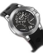wristwatch Harry Winston Ocean Biretro (WG / Black Rubber)