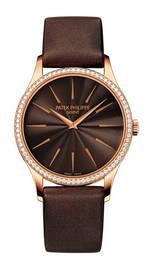 wristwatch Patek Philippe Calatrava Rose Gold Ladies