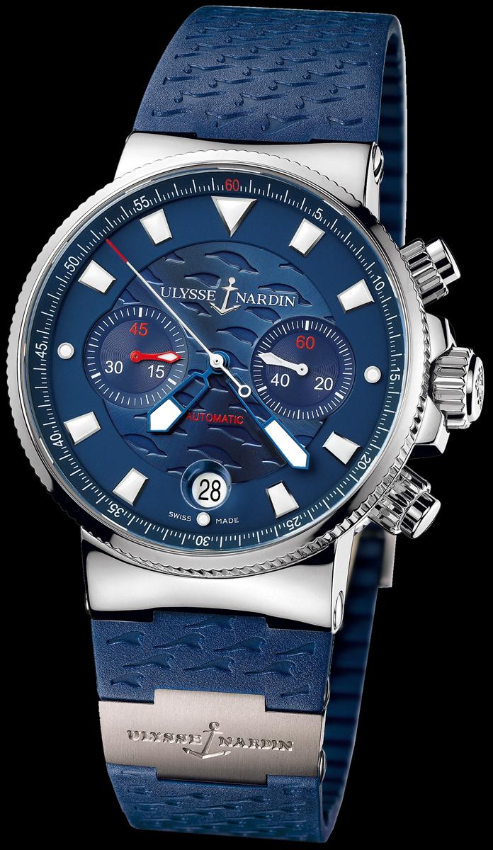 wristwatch Ulysse Nardin Blue Seal (Maxi Marine Chronograph)