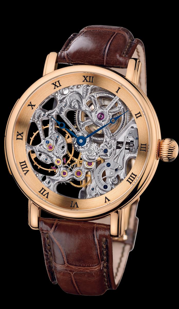 wristwatch Ulysse Nardin Maxi Skeleton