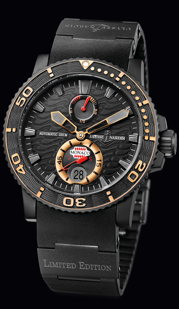 wristwatch Ulysse Nardin Monaco YS Limited Edition