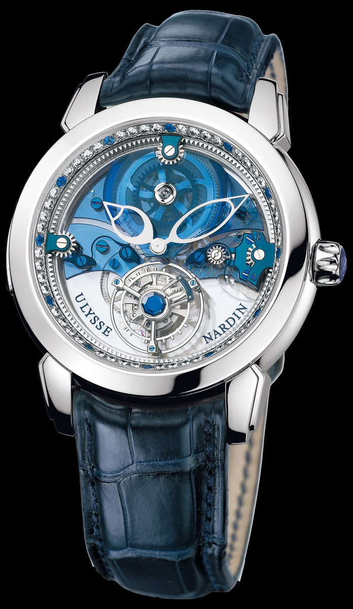 wristwatch Ulysse Nardin Royal Blue Tourbillon
