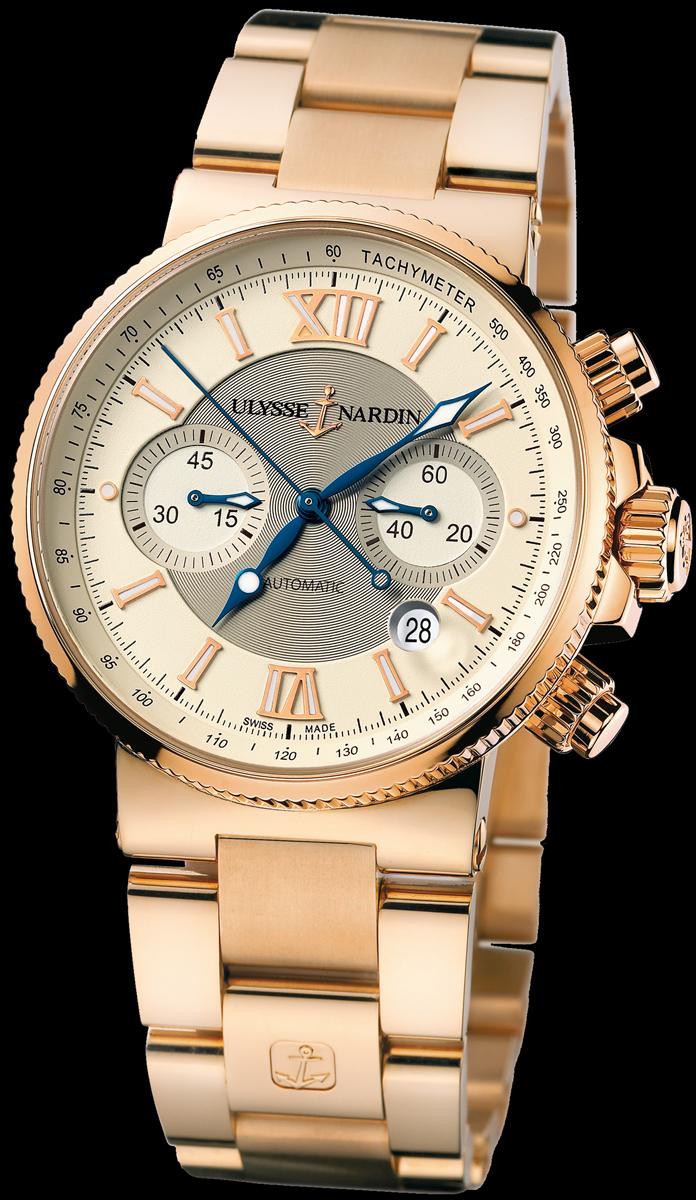 сегодня расскажу часы ulysse nardin marine chronograph 356 66 времена молодости