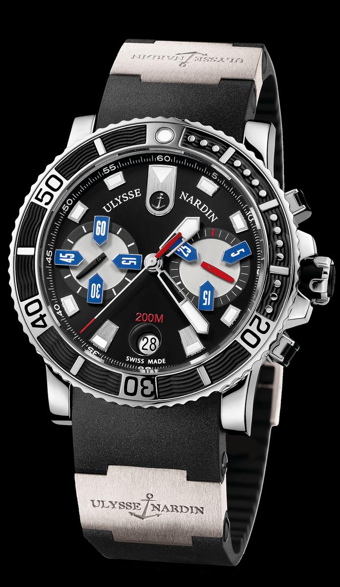 Часы ulysse nardin maxi marine chronograph копия