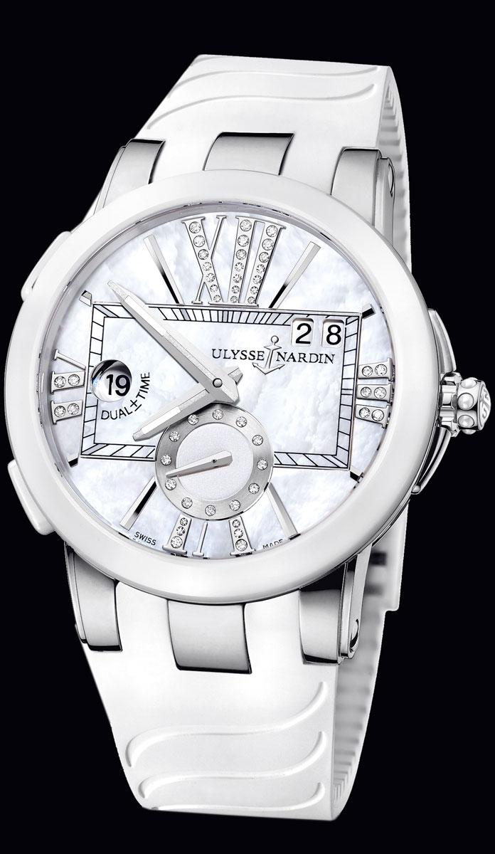 wristwatch Ulysse Nardin Executive Dual Time Lady