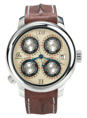 wristwatch Jacob & Co. World GMT
