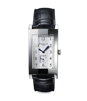 wristwatch alfred dunhill wristwatch facet stainless