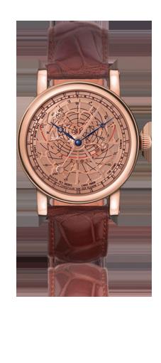 wristwatch Christiaan v.d. Klaauw details CK ASTROLABIUM