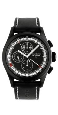 wristwatch Glycine Incursore Black Jack Compliqué