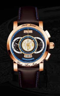 wristwatch Paul Picot F.C. Internazionale 44 mm