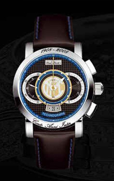 wristwatch Paul Picot F.C. Internazionale 44 mm