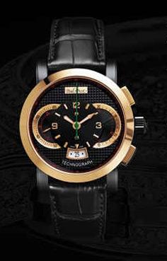 wristwatch Paul Picot Bicolor 44 mm