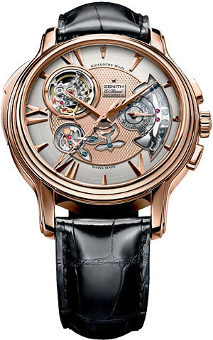 wristwatch Zenith Academy Open Repetition Minutes Mens