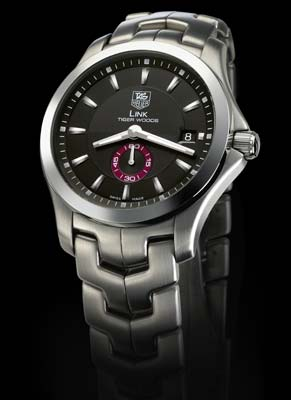 Tag heuer link grand date tiger woods limited edition replica.