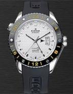 wristwatch Edox Class-1 GMT Automatic Titanium