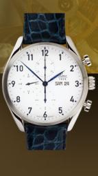 wristwatch Valjoux 44 blue