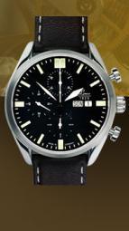 wristwatch Valjoux 44 black