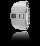 wristwatch De Baschmakoff métal argent