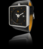 wristwatch Big TV black