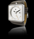 wristwatch Big TV marron blanc