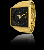 wristwatch Big TV gold fingers