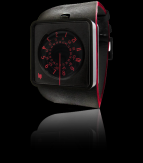 wristwatch Automythic rouge & noir