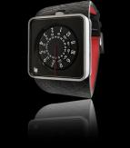 wristwatch Automythic noir & silver